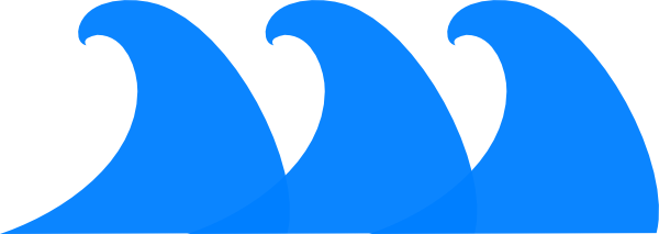 Waves clip art at vector clip art online royalty free