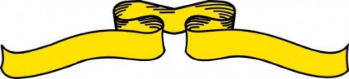 Yellow ribbon clip art clipart