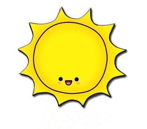 Sun clipart tattoo idea sunshine makes me smile 2