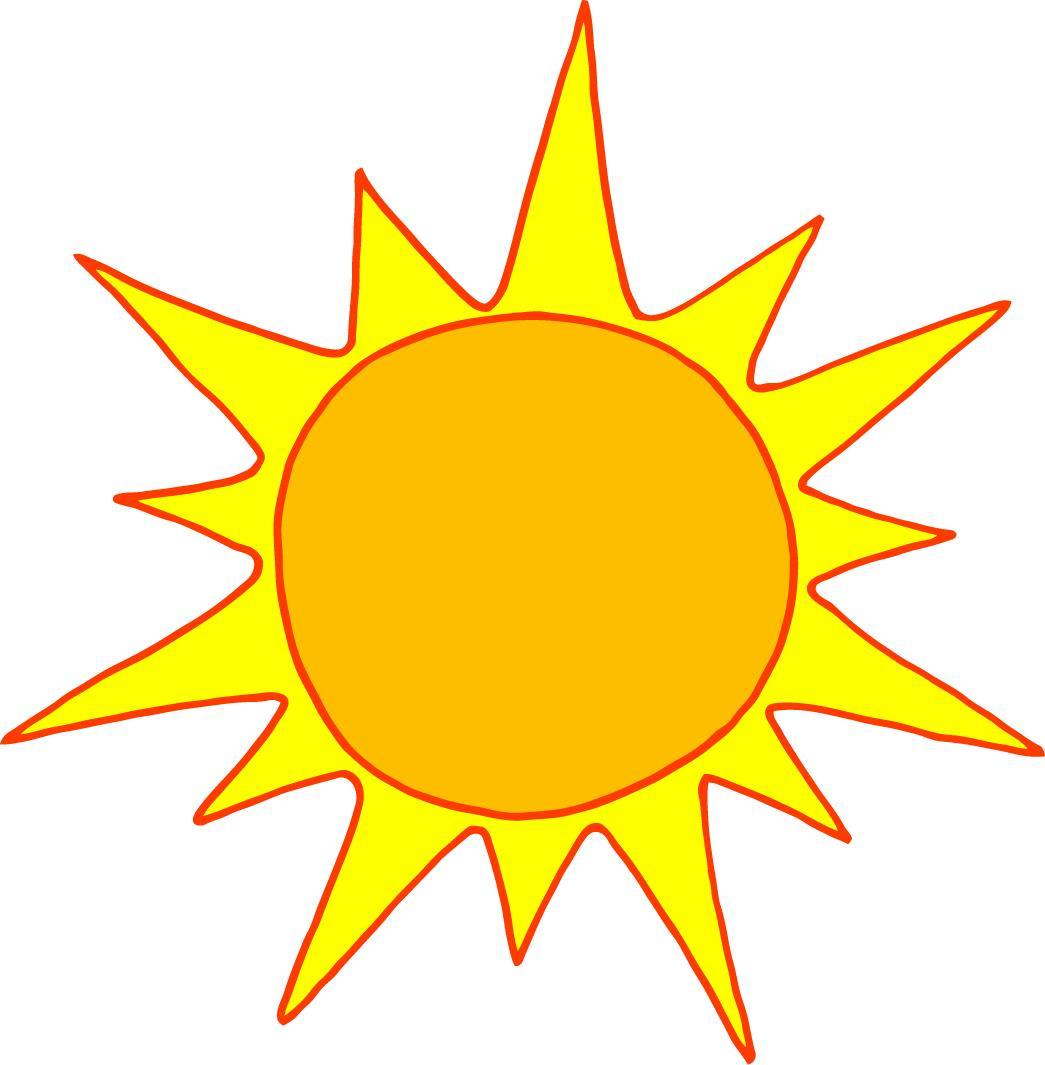 Sunshine cartoon clipart