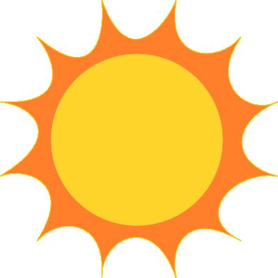 Sunshine free sun clipart