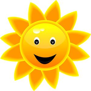 Sunshine happy sun clipart 2