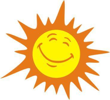 Sunshine happy sun clipart