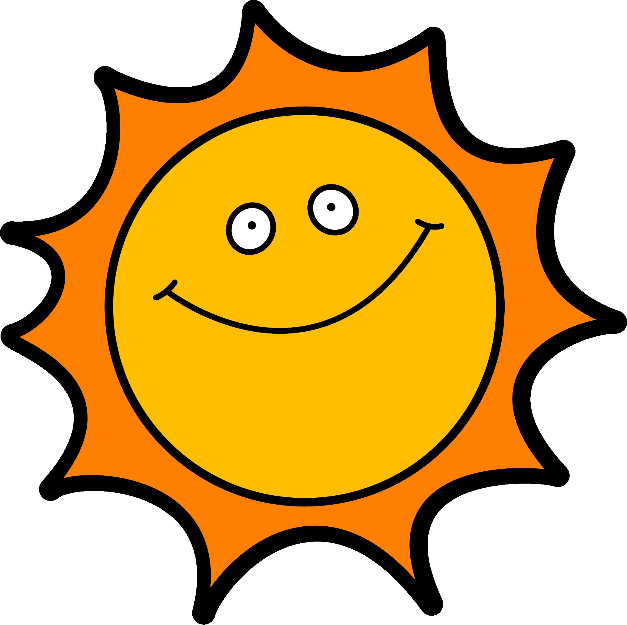 Sunshine sun clipart