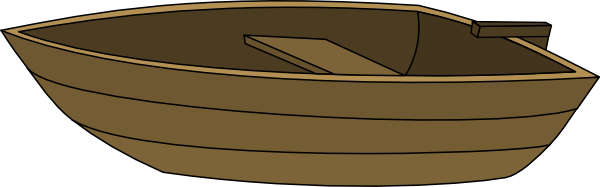 Boat without mast clip art at vector clip art online