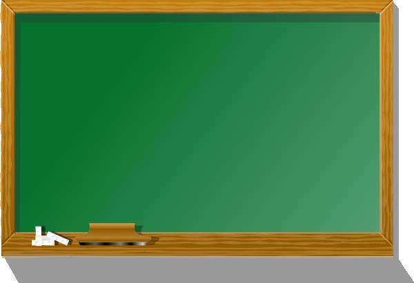 Chalkboard blackboard clip art at vector clip art online royalty