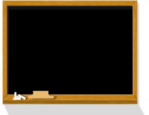 Chalkboard clip art at vector clip art online royalty
