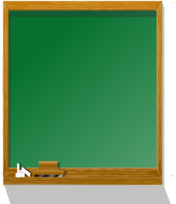 Chalkboard tall clip art at vector clip art online