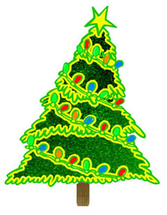 Christmas tree christmas clipart trees and wreaths