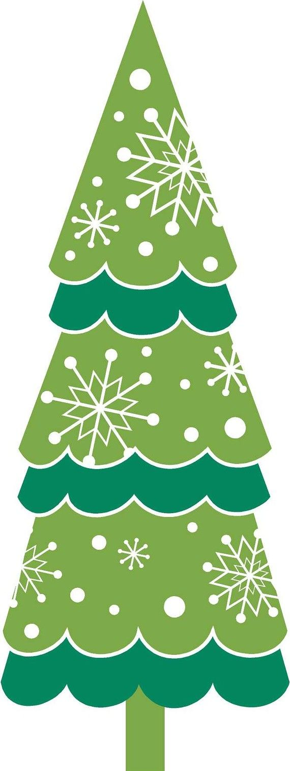 Christmas tree clip art clip choinka tree wall