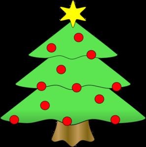 Christmas tree clip art vector clip art online royalty free