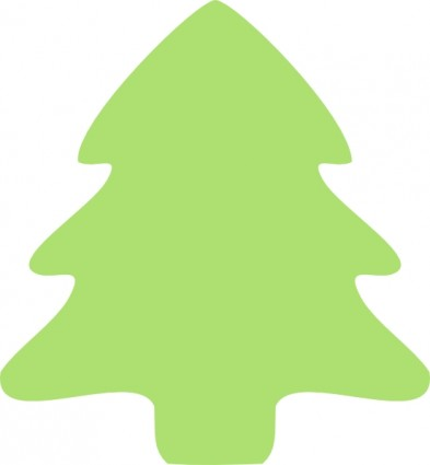 Christmas tree icon clip art free vector in open office drawing