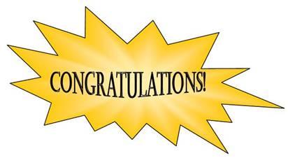 Congratulations clipart 2