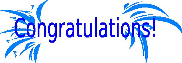 Congratulations clipart 3