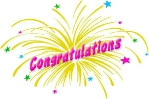 Congratulations clipart 5 3