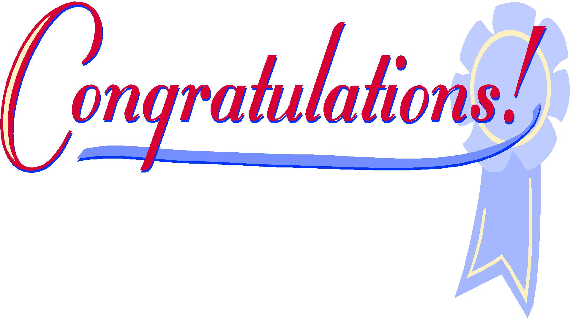 Congratulations clipart 5 4