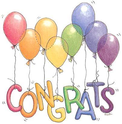 Congratulations clipart 6