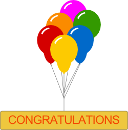 Congratulations free clipart