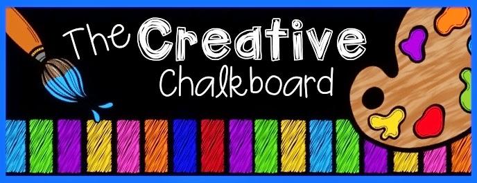 Creative chalkboard header