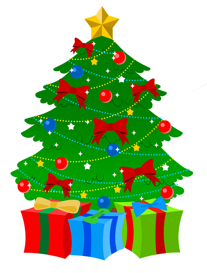 Free christmas tree clip art christmas moment