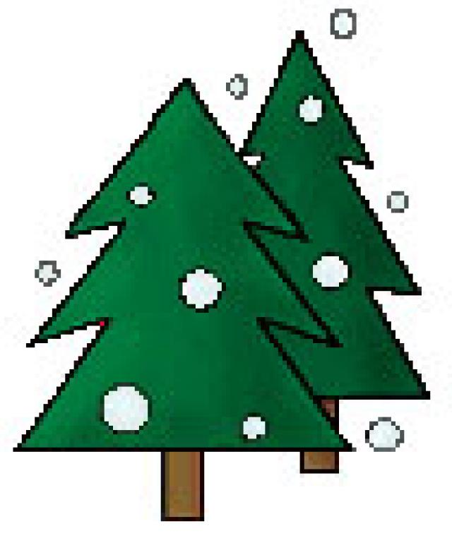 Free christmas tree clip art for all your projects