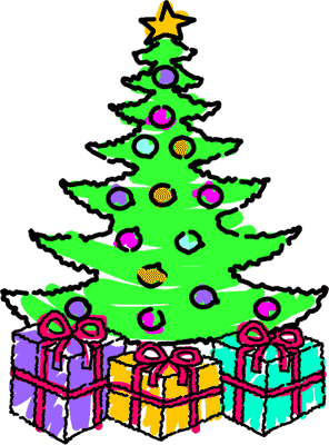 Free christmas tree clipart public domain christmas clip art 3