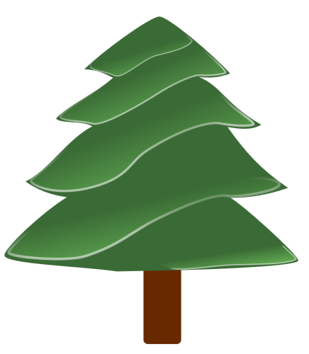 Free christmas tree clipart public domain christmas clip art 4