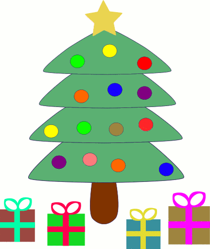Free christmas tree clipart public domain christmas clip art 6