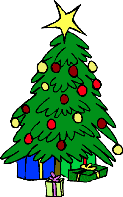 Free christmas tree clipart public domain christmas clip art