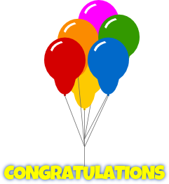 Free congratulations clipart free clip art images