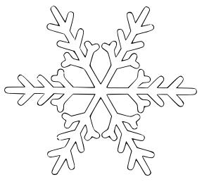 Free snowflake clipart public domain snowflake clip art images 2