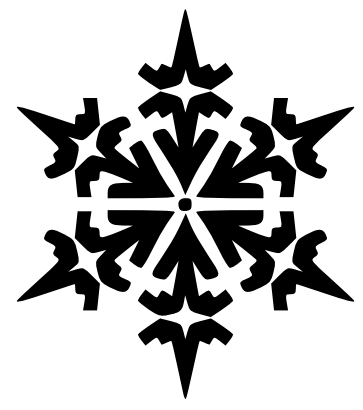 Free snowflake clipart public domain snowflake clip art images 4