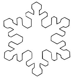 Free snowflake clipart public domain snowflake clip art images