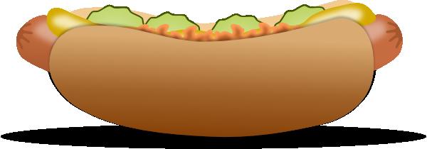 Hot dog clip art at vector clip art online royalty