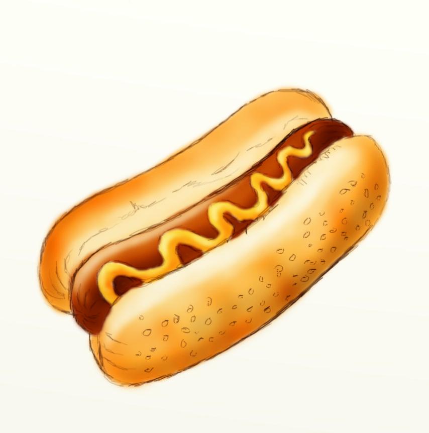 Hot dog clip art clipart