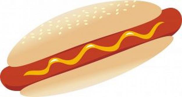 Hot dog clip art free clipart