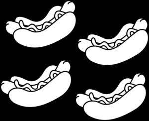Hot dogs clip art at vector clip art online royalty