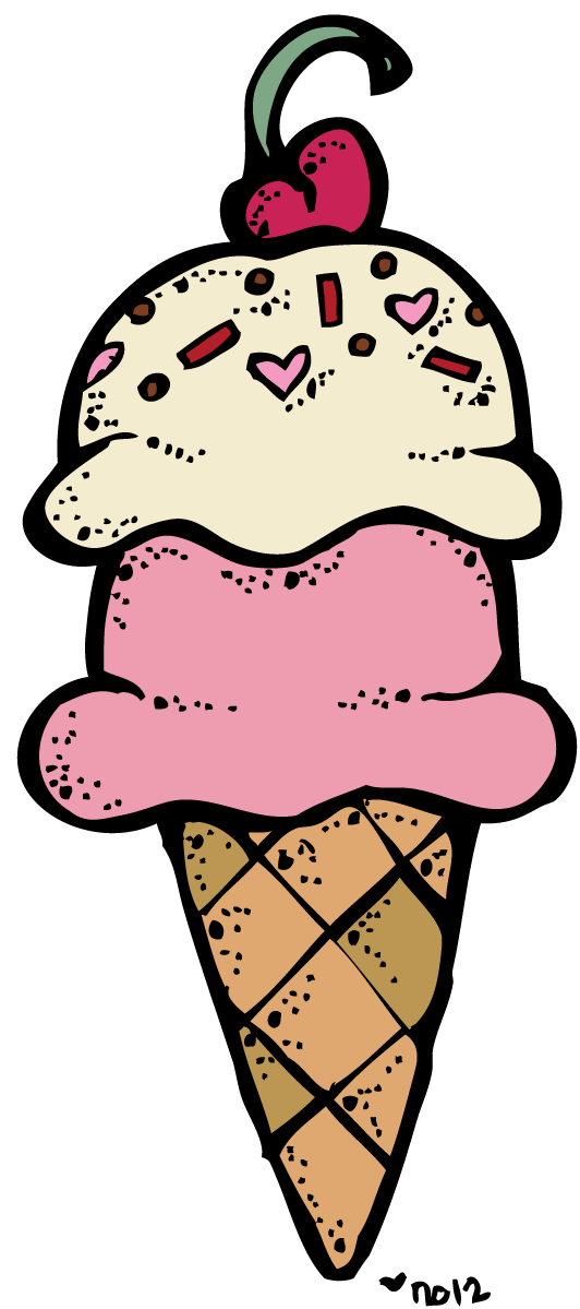 Ice cream border clip art