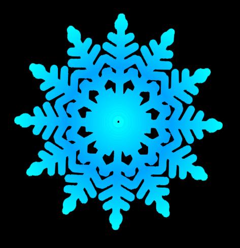 Snowflakes clip art  2