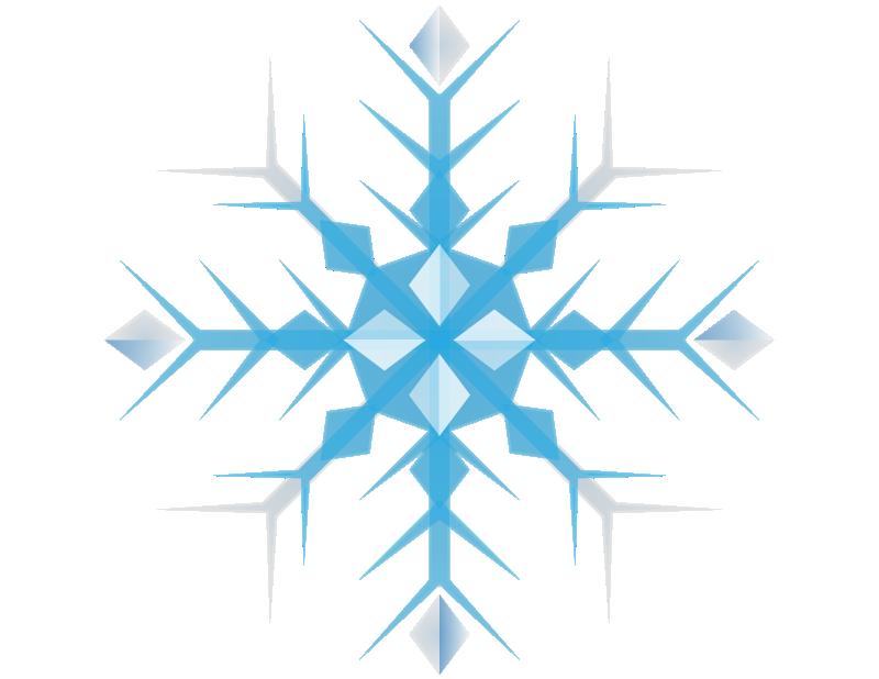 Snowflakes clip art  3