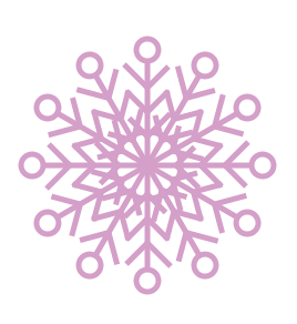 Snowflakes clip art  4