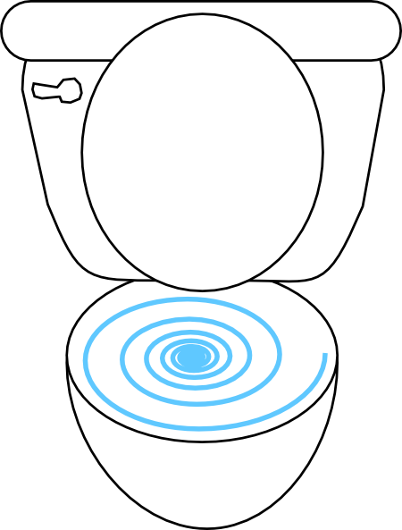 Toilet clip art  2