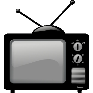 Tv clipart 5