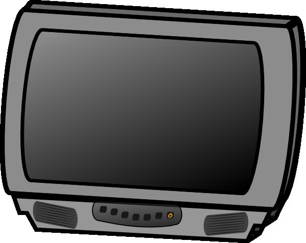 Tv television clip art  2