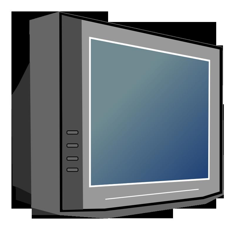 Tv televison. Television clip art image