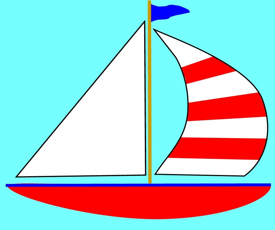 Yacht boat clipart