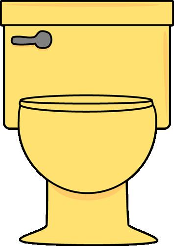 Yellow toilet clip art yellow toilet image