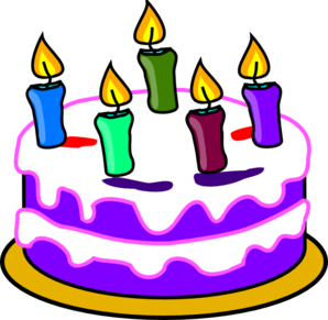 Birthday cake clip art at vector clip art online