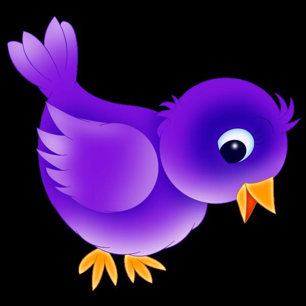 Blue bird clipart 3