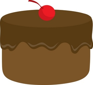 Cake clipart image chocolate cake 2
